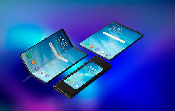 Los primeros móviles plegables ya son una realidad