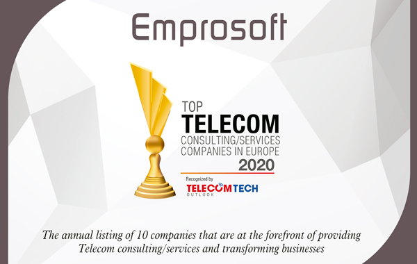 Emprosoft top 10 companies in telecommunications consulting
